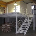 Zone de stockage aménagée par Actiwork