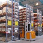 Racks de stockage aménagés par Actiwork